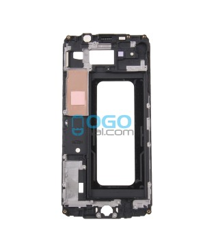 Front Housing LCD Frame Bezel Plate Replacement for Samsung Galaxy A7 (2016) A7100