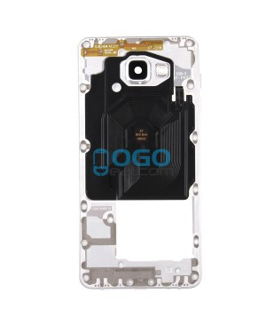 Middle Frame Bezel Assembly - White for Samsung Galaxy A7 (2016) A7100