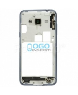 Middle Frame Bezel  - Black for Samsung Galaxy J3 (2016)