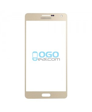 Front Glass Lens Replacement for Samsung Galaxy A7 / A7000 Gold