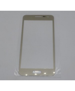 Front Outer Screen Glass Lens Replacement for Samsung Galaxy A3 - Gold