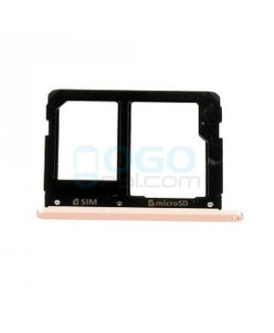 SIM Card Tray Replacement for Samsung Galaxy A3 2016 A310 Pink