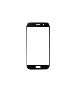 Front Outer Screen Glass Lens Replacement for Samsung Galaxy A3 2017 - Black