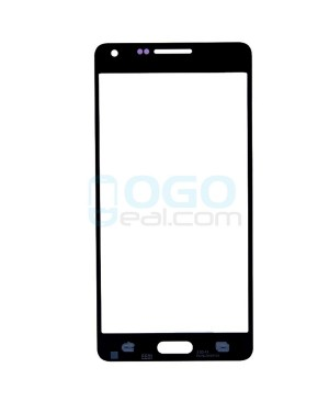 Front Outer Screen Glass Lens Replacement for Samsung Galaxy A5 - Black