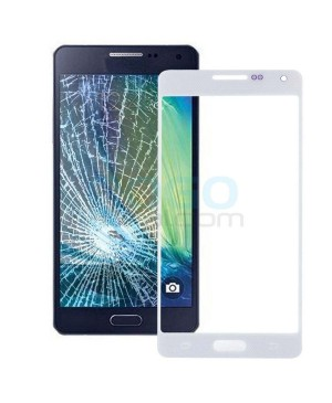 Front Outer Screen Glass Lens Replacement for Samsung Galaxy A5 - White