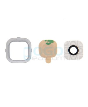 Camera Lens with Bezel Replacement for Samsung Galaxy A5 White