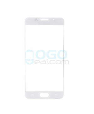 Front Outer Screen Glass Lens Replacement for Samsung Galaxy A5 2016 A510 - White