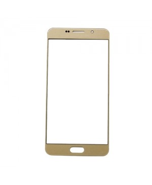 Front Outer Screen Glass Lens Replacement for Samsung Galaxy A5 2016 A510 - Gold