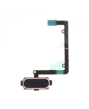 Back Home Button Fingerprint Sensor Flex Cable Replacement for Samsung Galaxy A5 2016 A510 Rose Gold