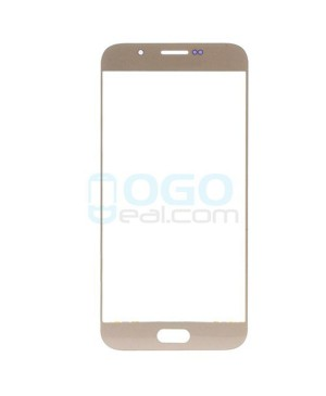 Front Outer Screen Glass Lens Replacement for Samsung Galaxy A8 - Gold