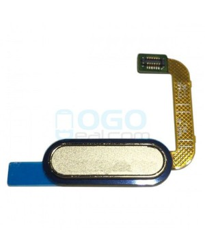Back Home Button Flex Cable Replacement for Samsung Galaxy A9 2016 Gold