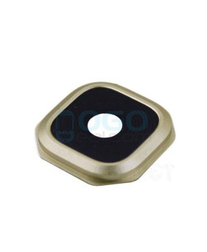 Camera Lens with Bezel Replacement for Samsung Galaxy A9 2016 Gold