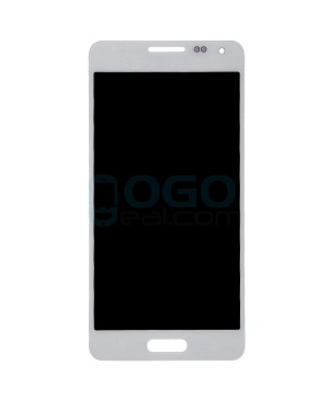 LCD & Digitizer Touch Screen Assembly Replacement for Samsung Galaxy Alpha - White
