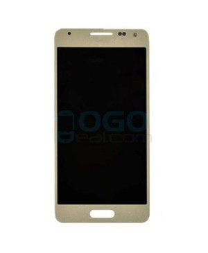 LCD & Digitizer Touch Screen Assembly Replacement for Samsung Galaxy Alpha - Gold