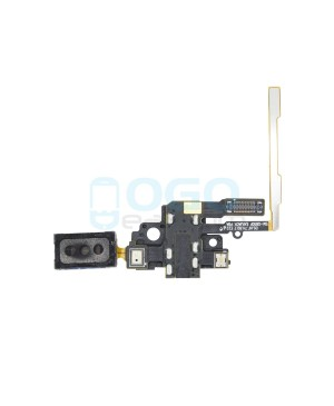Earpiece Speaker and Headphone Jack Flex Cable Replacement for Samsung Galaxy Alpha