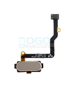 Back Home Button Flex Cable Replacement for Samsung Galaxy C5 Gold