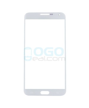 Front Outer Screen Glass Lens Replacement for Samsung Galaxy E7 - White
