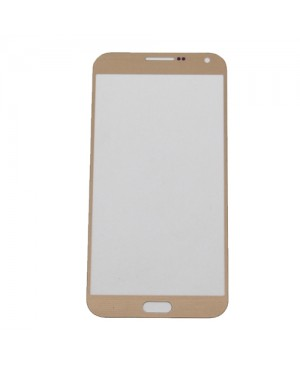 Front Outer Screen Glass Lens Replacement for Samsung Galaxy E7 - Gold