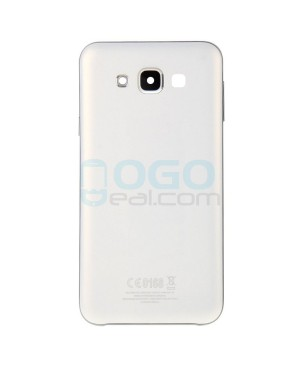 Battery Door/Back Cover Replacement for Samsung Galaxy E7 - White