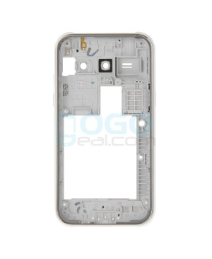 Rear Housing Bezel Replacement for Samsung Galaxy J1 J100 - White