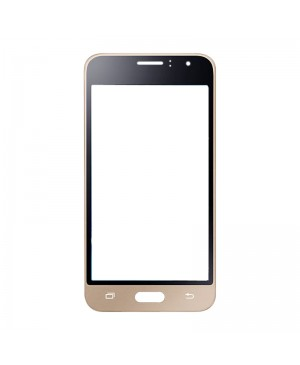Front Outer Screen Glass Lens Replacement for Samsung Galaxy J1 2016 J120 - Gold