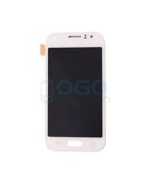 LCD & Digitizer Touch Screen Assembly Replacement for Samsung Galaxy J1 Ace J110 - White