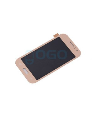 LCD & Digitizer Touch Screen Assembly Replacement for Samsung Galaxy J1 Ace J110 - Gold