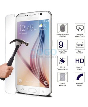 10pcs Samsung Galaxy S6 Tempered Glass Screen Protector Film Guard 9H Without retail Packing Box