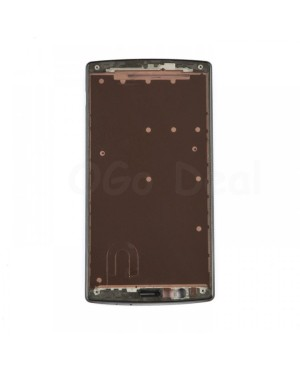LG G4 Front Frame With Sticker, , Black