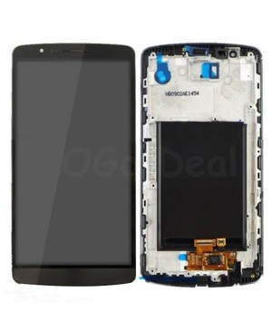 LG G3 LCD Screen and Digitizer Assembly With Frame  D855 D851 D850 LS990 - Black