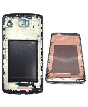LG G3 Front Frame With Sticker, , Black