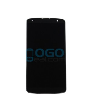 LCD & Digitizer Touch Screen Assembly With Frame replacement for lg G Pro 2 F350 - Black