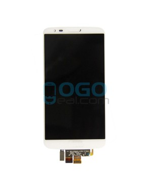 LCD & Digitizer Touch Screen Assembly Replacement for LG G2 D802 - White