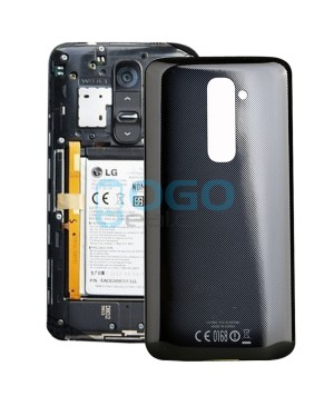 OEM Battery Door/Back Cover Replacement for LG G2 D802 - Black