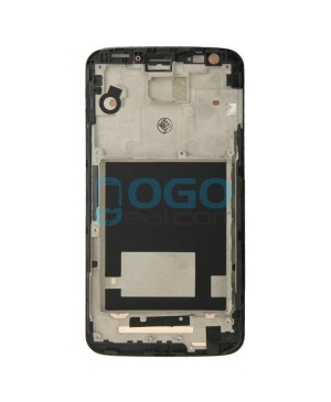 OEM Front Housing Bezel Replacement for lg G2 D802 - Black