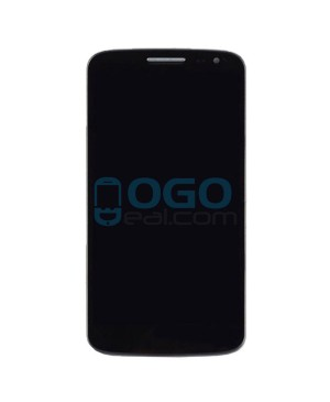 OEM LCD & Digitizer Touch Screen Assembly With Frame for lg G2 Mini - Black