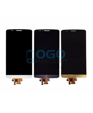 LCD & Digitizer Touch Screen Assembly Replacement for lg G3 S D722 - Gold