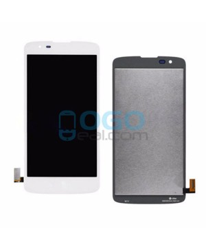 LCD & Digitizer Touch Screen Assembly Replacement for lg K8 - White