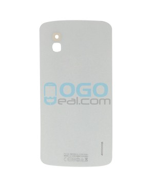 OEM Battery Door/Back Cover Replacement for Google Nexus 4 E960 - White