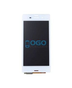 For Sony Xperia Z3 LCD & Touch Screen Assembly Replacement - White