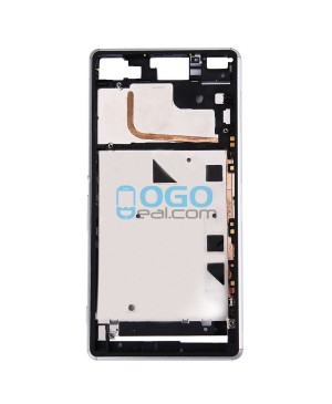 Front Housing Replacement for Sony Xperia Z3 - White