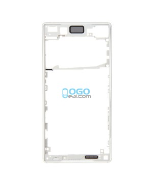 Front Housing Bezel Replacement for Sony Xperia Z5 - White