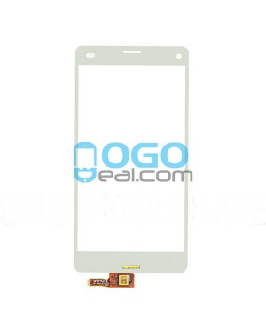 Digitizer Touch Glass Panel Replacement for Sony Xperia Z3 Compact/Z3 Mini White