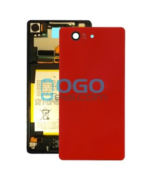 Battery Door/Back Cover Replacement for Sony Xperia Z3 Compact/Z3 Mini Orange
