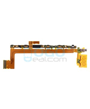 Side Key Flex Cable with Vibrator Replacement for Sony Xperia Z5 premium