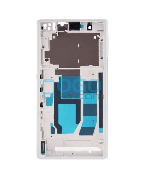 Front Housing Bezel Replacement for Sony Xperia Z L36H - White