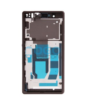Front Housing Bezel Replacement for Sony Xperia Z L36H - Purple