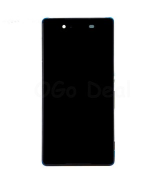 For Sony Xperia Z3 + /Z4 LCD & Touch Screen Assembly With Frame Replacement- Black