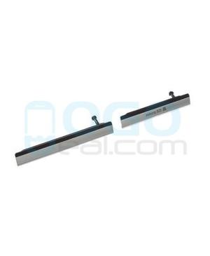 Micro SD & USB Anti Dust Plug Cap Cover for Sony Xperia Z2 Black