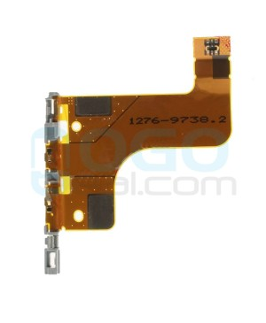 Charging Dock Port & Sensor & Headphone Jack Flex Cable Replacement for Sony Xperia Z2